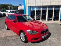 USED 2012 62 BMW 1 SERIES 2.0 116D ES 5d AUTO 114 BHP