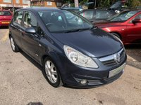USED 2009 09 VAUXHALL CORSA 1.4 i 16v Design 5dr (a/c) AIR CONDITIONING,  AUX/IPOD PORT, SUPPLIED WITH A  NEW MOT