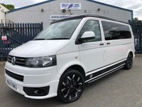 USED 2013 13 VOLKSWAGEN TRANSPORTER T5 CAMPER 2.0 T30 TDI BLUEMOTION TECHNOLOGY 1d 113 BHP
