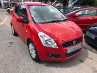 USED 2009 59 SUZUKI SPLASH 1.2 GLS+ 5dr IDEAL FIRST CAR, LOW RUNNING COSTS, SUPPLIED WITH A  NEW MOT