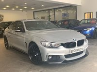 USED 2018 18 BMW 4 SERIES 2.0 430I M SPORT GRAN COUPE 4d AUTO 248 BHP +++M PERFOR STYLING+SATNAV+++