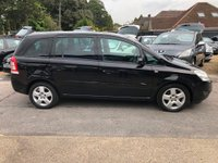 USED 2008 58 VAUXHALL ZAFIRA 1.6 i 16v Breeze 5dr GREAT VALUE SEVEN SEATER, SUPPLIED WITH A  NEW MOT