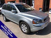 """USED 2014 14 VOLVO XC90 2.4 D5 ES AWD 5DOOR AUTO 200 BHP Family 7-Seater   :   AUX Socket   :   Auto Headlights   :   Cruise Control   :   Phone Bluetooth      Heated Front Seats        :        Full Beige Leather Upholstery        :        Cargo / Load Cover     Rear Parking Sensors   :   17"""" Alloy Wheels   :   2 Keys   :   Full Volvo Service History"""