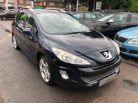 USED 2009 59 PEUGEOT 308 2.0 HDi FAP Sport 5dr FULL LEATHER SEATS PANORAMIC GLASS ROOF SUPPLIED WITH A NEW MOT