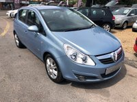 USED 2009 09 VAUXHALL CORSA 1.4 i 16v Design 5dr (a/c) AIR CONDITIONING,  AUX/IPOD PORT, HALF LEATHER, SUPPLIED WITH A  NEW MOT