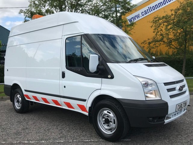 2012 62 FORD TRANSIT T350m [ MOBILE WORKSHOP ] High Roof Van Low Mileage
