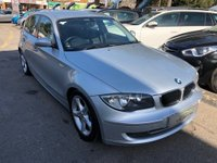 USED 2007 57 BMW 1 SERIES 1.6 116i ES 5dr GREAT SPEC AND VALUE AIR CONDITIONING, ALLOYS, SUPPLIED WITH A NEW MOT