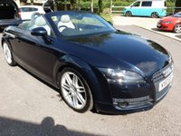 "USED 2010 10 AUDI TT 1.8 TFSI 2d 160 BHP 2 OWNERS FROM NEW, 19"" 7  TWIN SPOKE ALLOYS, REAR PARKING SENSORS, 6 SPEED, FSH, ELECTRIC SPOILER, £185 RFL,"