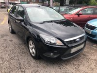 USED 2009 09 FORD FOCUS 1.6 Zetec 5dr AIR CONDITIONING,  ALLOYS, SUPPLIED WITH A  NEW MOT