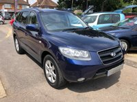 USED 2006 06 HYUNDAI SANTA FE 2.2 CRTD CDX+ 5dr  FULL LEATHER HEATED ELECTRIC SEATS, 4x4, ,DIESEL AUTO,SUPPLED WITH A NEW MOT