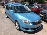 USED 2010 60 SKODA ROOMSTER 1.6 TDI SE 5dr GLASS ROOF REAR PARKING AID, AIR CONDITIONING, SUPPLIED WITH A NEW MOT