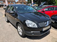 USED 2008 08 NISSAN QASHQAI 2.0 dCi Tekna 2WD 5dr FULL BLACK LEATHER,  GLASS ROOF, BLUETOOTH, SUPPLIED WITH A NEW MOT