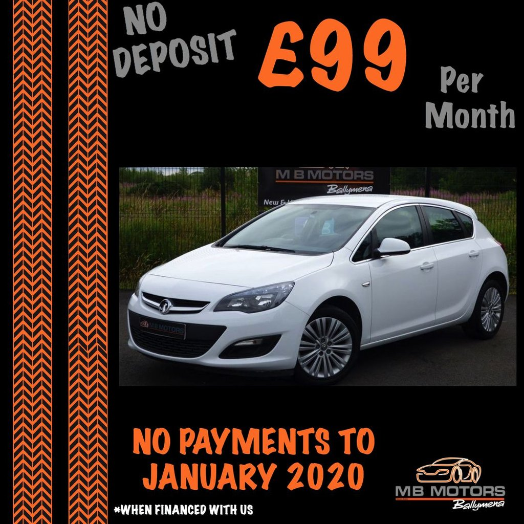 USED 2015 VAUXHALL ASTRA EXCITE 1.6 5d 113 BHP