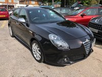 USED 2012 12 ALFA ROMEO GIULIETTA 2.0 JTDM-2 Veloce 5dr GREAT SPEC AND FUEL ECONOMY HALF LEATHER CLIMATE SUPPLIED WITH ANEW MOT