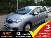 USED 2018 18 HONDA JAZZ 1.3 i-VTEC SE 5dr CVT   All the jazz in this one! Plenty of spec and a massive 3 year warranty