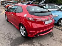 USED 2010 60 HONDA CIVIC 1.8 i-VTEC Type S GT 3dr GLASS ROOF,  CLIMATE CONTROL, CRUISE CONTROL, SUPPLIED WITH A NEW MOT