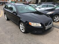 USED 2008 08 VOLVO V70 2.4 D5 SE Sport Geartronic 5dr 12 SERVICE STAMPS INCLUDING CAMBELT, FULL LEATHER, SUPPLIED WITH A NEW MOT