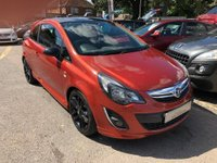 USED 2012 62 VAUXHALL CORSA  1.2 i 16v Limited Edition 3dr (a/c) STUNNING LOOKS HISTORY, BLUETOOTH, SUPPLIED WITH A NEW MOT