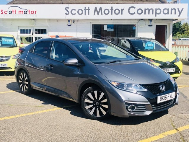 2016 Honda Civic I-Dtec SR £7,999