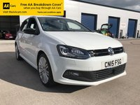 USED 2019 15 VOLKSWAGEN POLO 1.4 POLO BLUE GT AUTO 5d