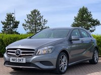 2015 MERCEDES-BENZ A CLASS 1.5 A180 CDI BLUEEFFICIENCY SPORT 5d AUTO 109 BHP £12995.00