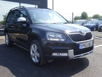 USED 2013 63 SKODA YETI 2.0 OUTDOOR SE TDI CR 5d 109 BHP MOT AND SERVICE AND WARRANTY INCLUDED