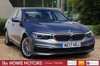 USED 2017 17 BMW 5 SERIES 3.0 540I XDRIVE SE 4d AUTO 335 BHP DRIVING ASSISTANT PLUS HARMAN KARDON SURROUND SOUND APPLE CARPLAY NAVIGATION LEATHER