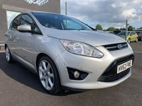USED 2012 62 FORD C-MAX 1.6 TITANIUM 5d 123 BHP FSH | PARKING SENSORS | BLUETOOTH | DAB RADIO |
