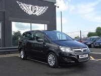 USED 2013 63 VAUXHALL ZAFIRA 1.7 DESIGN NAV CDTI ECOFLEX 5d 108 BHP MOT AND SERVICE AND WARRANTY INCLUDED