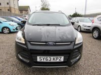 USED 2013 63 FORD KUGA 2.0 ZETEC TDCI 5d 140 BHP AWD 1 PREV OWNER  FULL FORD SERVICE HISTORY
