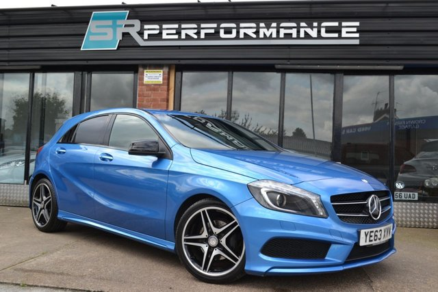 2014 63 MERCEDES-BENZ A CLASS 1.8 A200 CDI BLUEEFFICIENCY AMG SPORT 5d 136 BHP