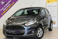 USED 2016 16 FORD FIESTA 1.5 ZETEC ECONETIC TDCI 5d 94 BHP ***SOLD***