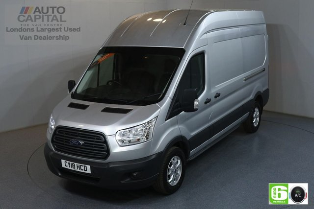 2018 18 FORD TRANSIT 2.0 350 TREND L3 H3 LWB 129 BHP FWD EURO 6 AIR CON MANUFACTURER WARRANTY UNTIL 26/07/2021
