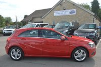 USED 2015 65 MERCEDES-BENZ A CLASS 1.6 A180 Sport Edition 5dr ONLY 4000 MILES*BLACK LEATHER