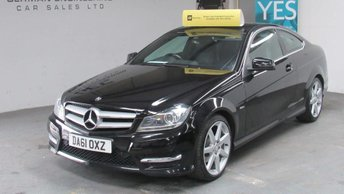 2011 MERCEDES-BENZ C CLASS 2.1 C220 CDI BlueEFFICIENCY AMG Sport Edition 125 7G-Tronic 2dr £9555.00