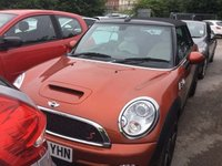 USED 2010 60 MINI CONVERTIBLE 1.6 Cooper S (Chili) (s/s) 2dr **NOW SOLD**