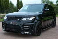 USED 2017 17 LAND ROVER RANGE ROVER SPORT 3.0 SD V6 HSE CommandShift 2 4X4 (s/s) 5dr NAV+CAM.+PAN ROOF+RS LUMMA KIT