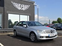 USED 2010 10 MERCEDES-BENZ C CLASS 2.1 C220 CDI BLUEEFFICIENCY SE 4d AUTO 170 BHP MOT AND SERVICE AND WARRANTY INCLUDED