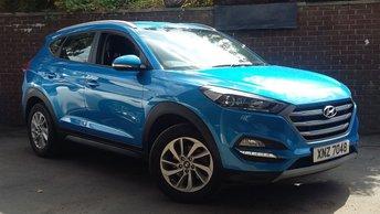 2018 HYUNDAI TUCSON 1.6 GDI SE NAV BLUE DRIVE 5d 130 BHP £15289.00