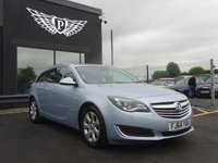 USED 2014 64 VAUXHALL INSIGNIA 2.0 TECH LINE CDTI ECOFLEX S/S 5d 138 BHP MOT AND SERVICE AND WARRANTY INCLUDED
