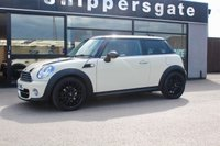 USED 2013 MINI HATCH COOPER 1.6 COOPER D 3d 112 BHP 1 Previous Owner Mini Cooper D in Pepper White, Chile Pack, Sun Protection Glazing, Sports Seats, Sport Button, DAB Tuner, Bluetooth Phone, Rain Sensor, Multifunction Steering Wheel, Rear Spoiler, Black Roof And Mirror Caps, Service History