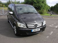 USED 2014 14 MERCEDES-BENZ VITO 3.0 122 CDI SPORT DUALINER 1d AUTO 224 - SOLD Air Con, Cruise Control, 56000 miles, Service History