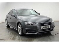 USED 2016 16 AUDI A4 2.0 TDI QUATTRO S LINE 4d AUTO 190 BHP.FULLY LOADED