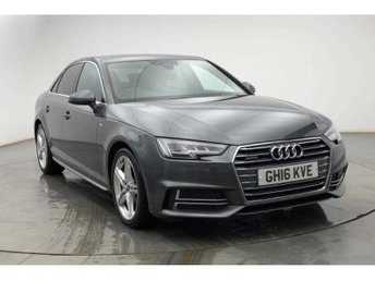 2016 AUDI A4 2.0 TDI QUATTRO S LINE 4d AUTO 190 BHP.FULLY LOADED £19995.00