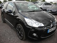 2012 CITROEN DS3 1.6 E-HDI AIRDREAM DSPORT 3d 111 BHP SOLD
