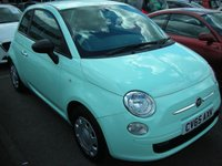 USED 2015 65 FIAT 500 1.2 TWINAIR LOUNGE 3d 105 BHP 1 Owner from new - FSH - Free road tax