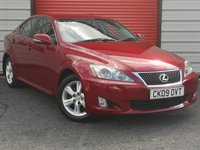 2009 LEXUS IS 2.2 220D SE 4d 175 BHP £4495.00