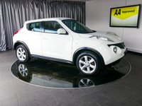 USED 2012 12 NISSAN JUKE 1.6 ACENTA 5d 117 BHP £0 DEPOSIT FINANCE AVAILABLE, AIR CONDITIONING, AUX INPUT, BLUETOOTH CONNECTIVITY, CLIMATE CONTROL, CRUISE CONTROL, DRIVE PERFORMANCE CONTROL, START/STOP SYSTEM, STEERING WHEEL CONTROLS, TRIP COMPUTER, USB INPUT