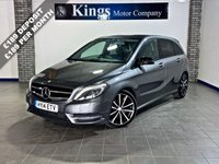 USED 2014 14 MERCEDES-BENZ B CLASS 1.8 B200 CDI BLUEEFFICIENCY SPORT 5dr Full Leather, Matt Black Roof, FSH , Drive Away SAME DAY!! STUNNING
