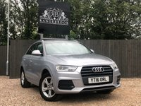 USED 2016 16 AUDI Q3 2.0 TDI SE 5dr 1 Year Parts & Labour Warranty